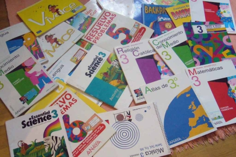Libros de texto de Educación Primaria