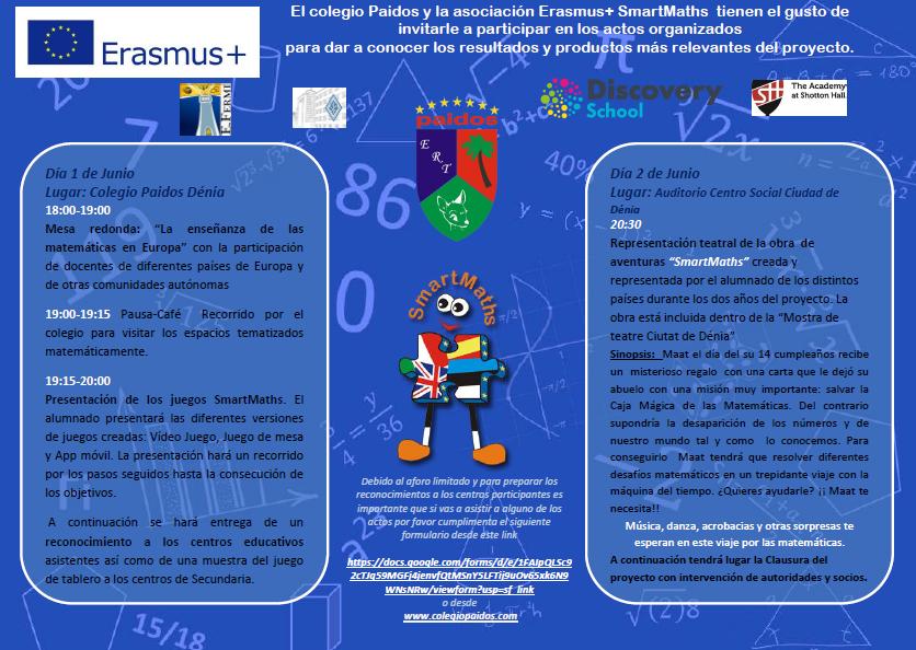 Smartmaths Presentacion De Productos Y Clausura Proyecto Colegio