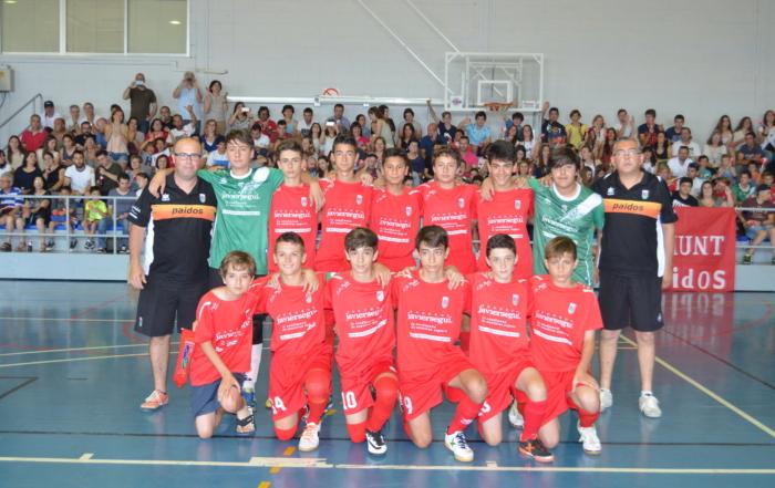 Paidos Infantil Campeón Autonómico Infantil de Fútbol Sala