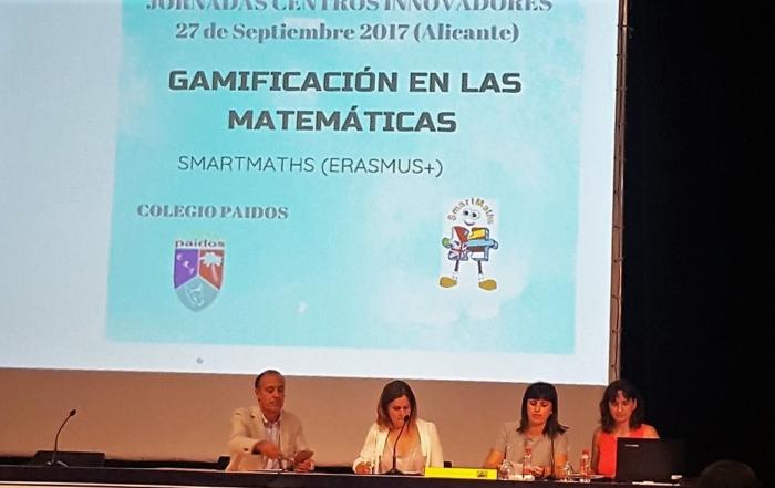 El colegio Paidos presenta el proyecto sobre Gamificación de las Matemáticas