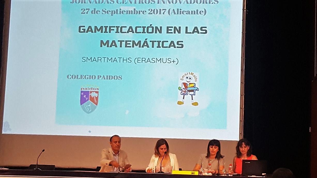 El colegio Paidos presenta el proyecto sobre Gamificación de las Matemáticas en la Jornada Nacional de Centros Innovadores