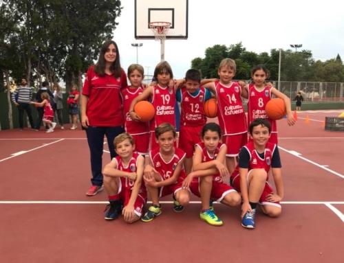 Horarios de baloncesto del CD Paidos para el fin de semana del 13 y 14 de octubre