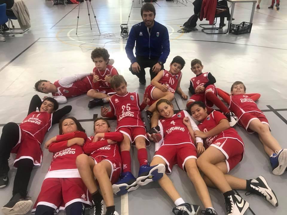 Baloncesto foto de equipo CD Paidos