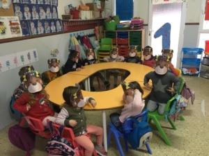 Carnaval en la guardería Bambi de Paidos Denia