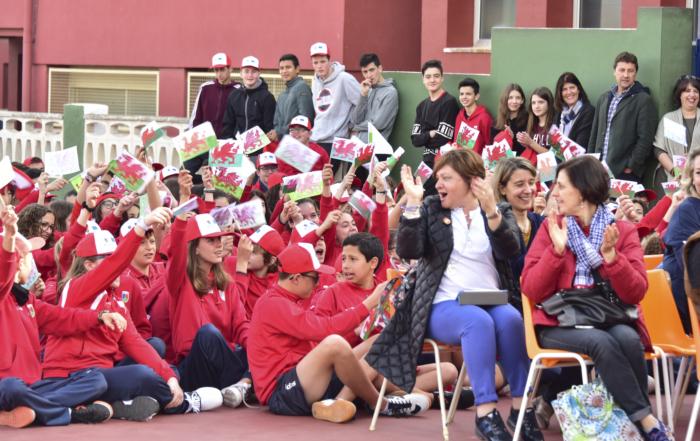 Colegio Paidos Denia proyecto Eramus + Under The Same Sky