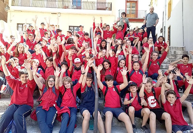 Colegio Paidos Denia excursión ESO a Xàtiva