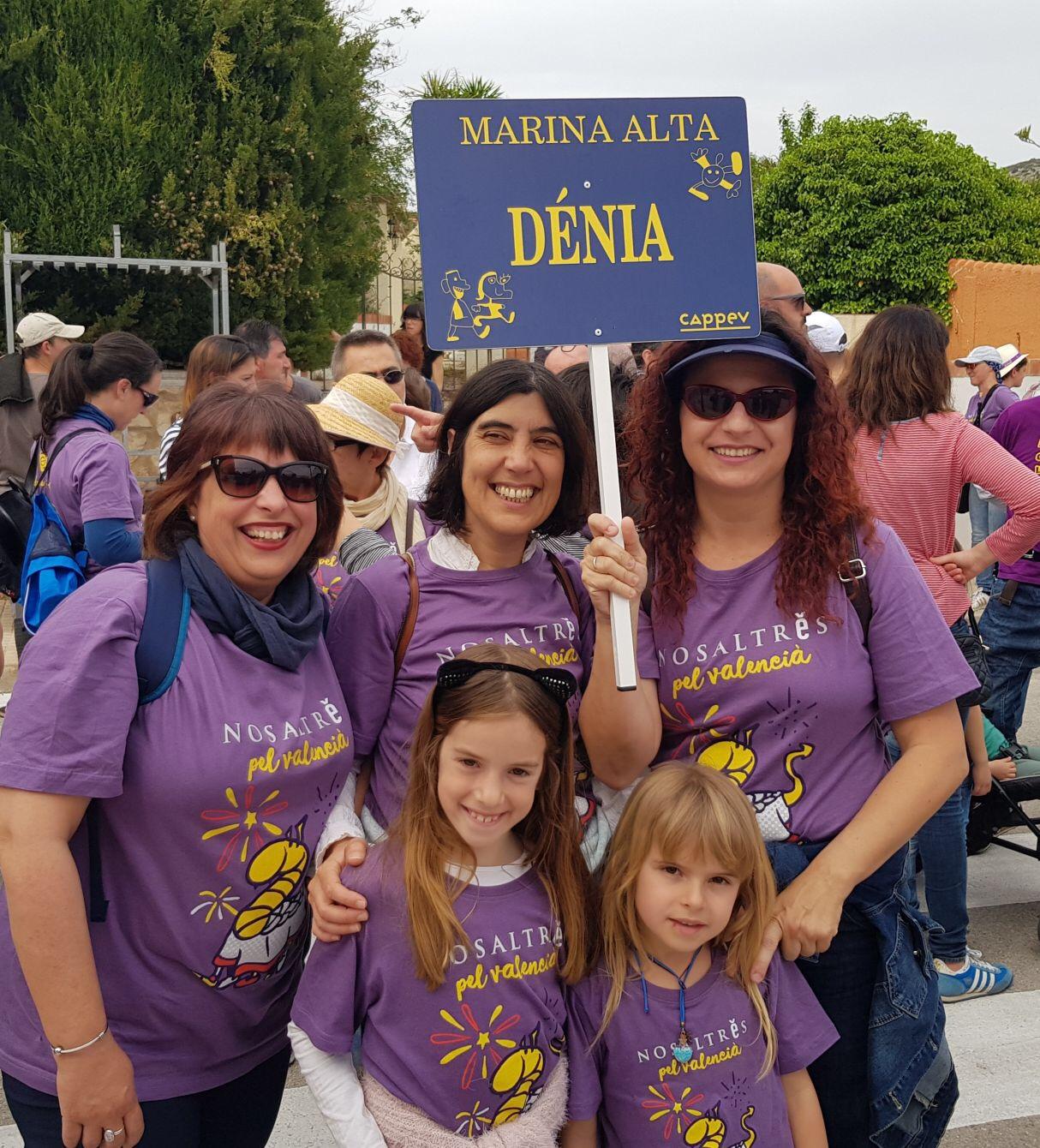 Paidos Denia a la Trobada d'Escoles en Valencià