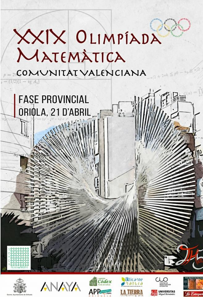 Paidos en la Olimpiada matemática Orihuela Fase Provincial