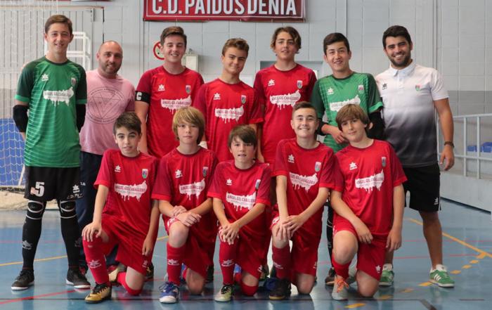 CD Paidos Denia infantil fútbol sala