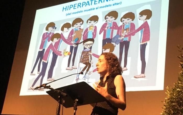 Eva Millet charla sobre Hiperpaternidad