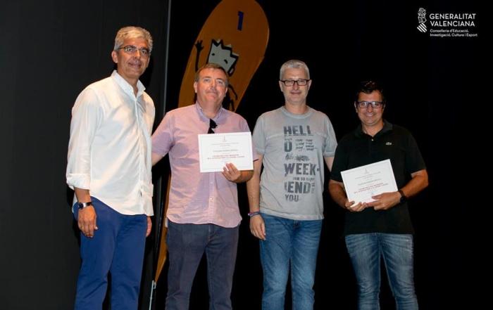 Premio fomento deporte colegio Paidos Denia