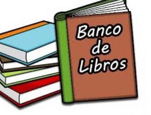 Banco de libros: Curso 2020/21. ¡Información importante para las familias!