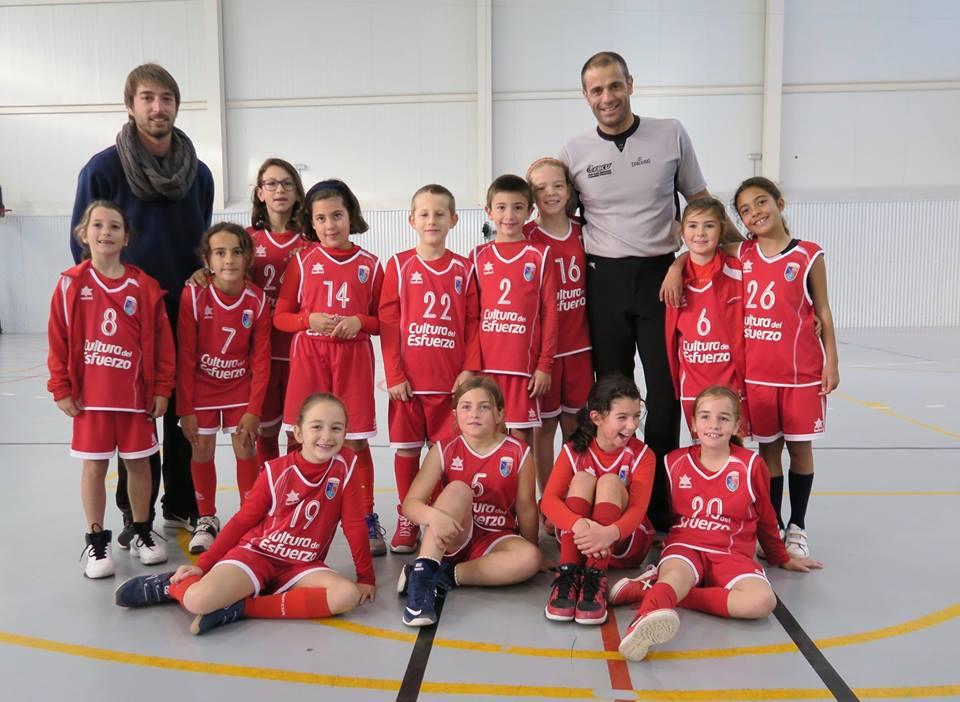 CD Paidos con Fernando Calatrava árbitro baloncesto