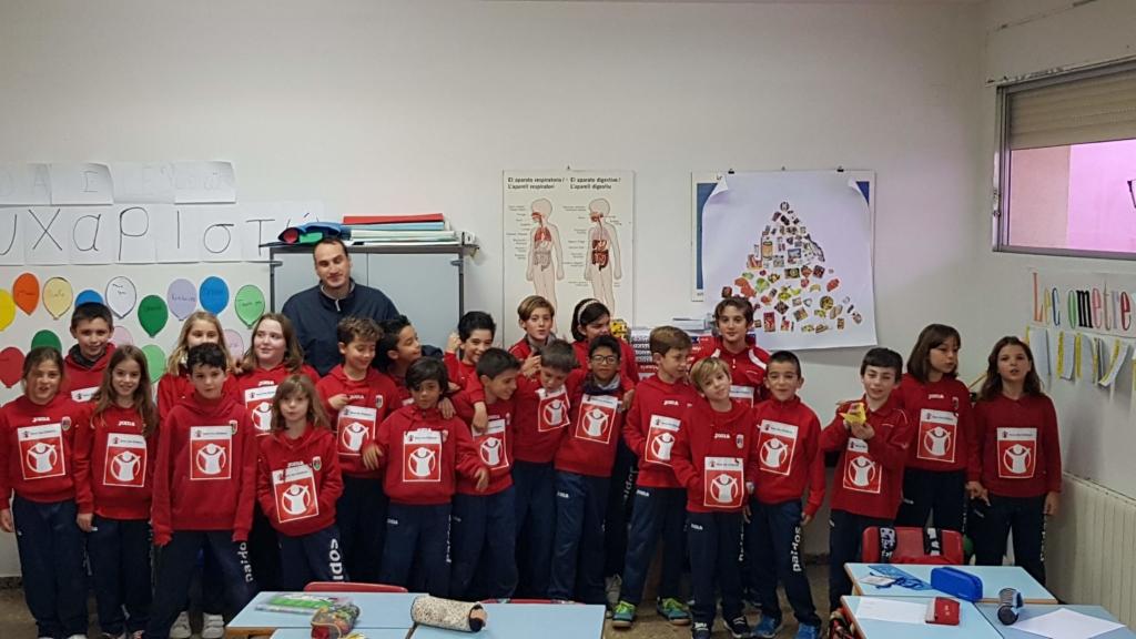 Carrera solidaria colegio Paidos Denia