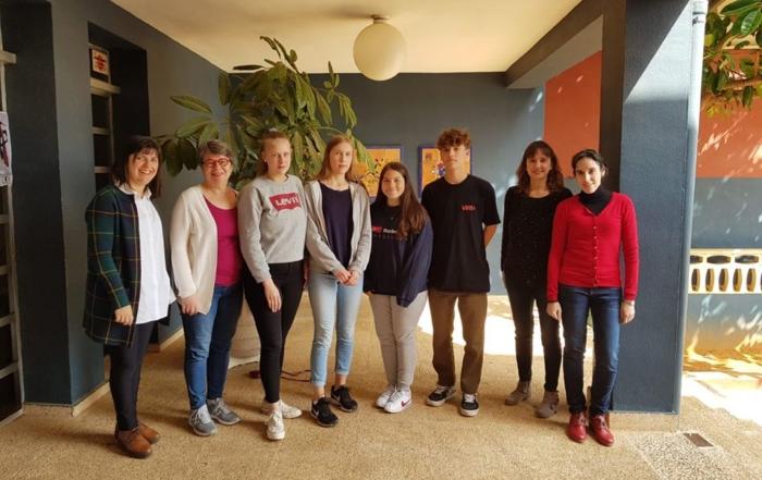 Poyecto Erasmus +: Intercambio alum@s finlandeses