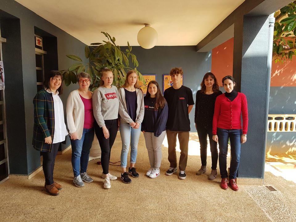 Paidos Denia Poyecto Erasmus +: Intercambio alum@s finlandeses