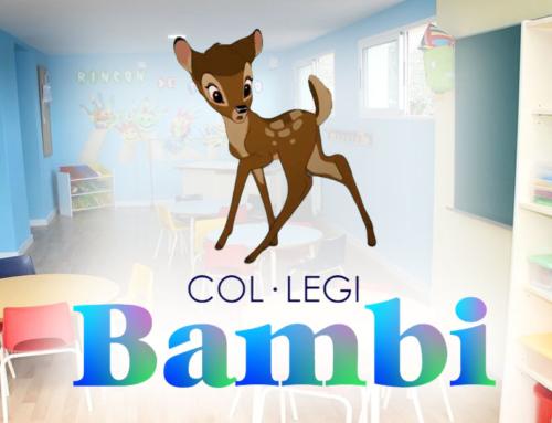 Jornada de puertas abiertas en Bambi: sábado 15 de febrero. ¡Os esperamos!