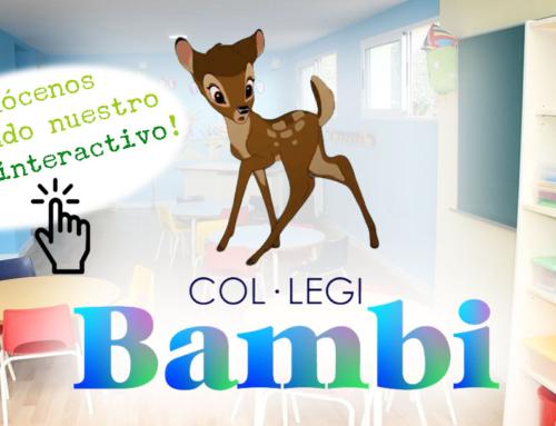 Ayudas para los niños de dos años matriculados en Bambi. Solicitud del Bono Infantil.