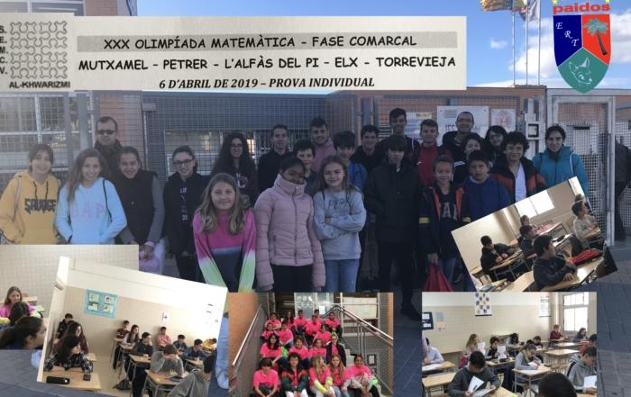 Paidos en la Olimpiada Matematica de Alfas del Pi