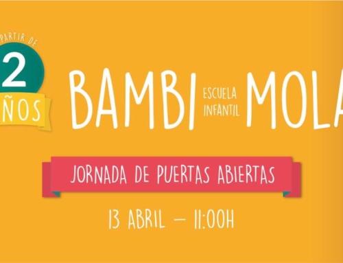 ¡Ven a conocer el nuevo Bambi!  Sábado 13 de abril, jornada de puertas abiertas