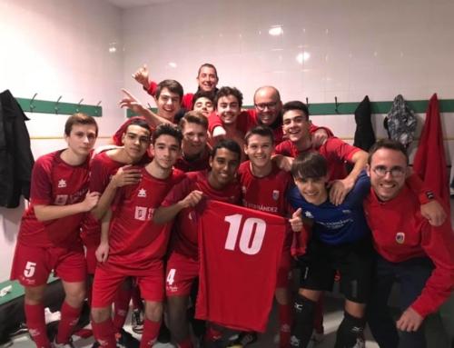 El equipo juvenil del Paidos Fontanería Fernández Luna, ¡¡Campeón de liga!!