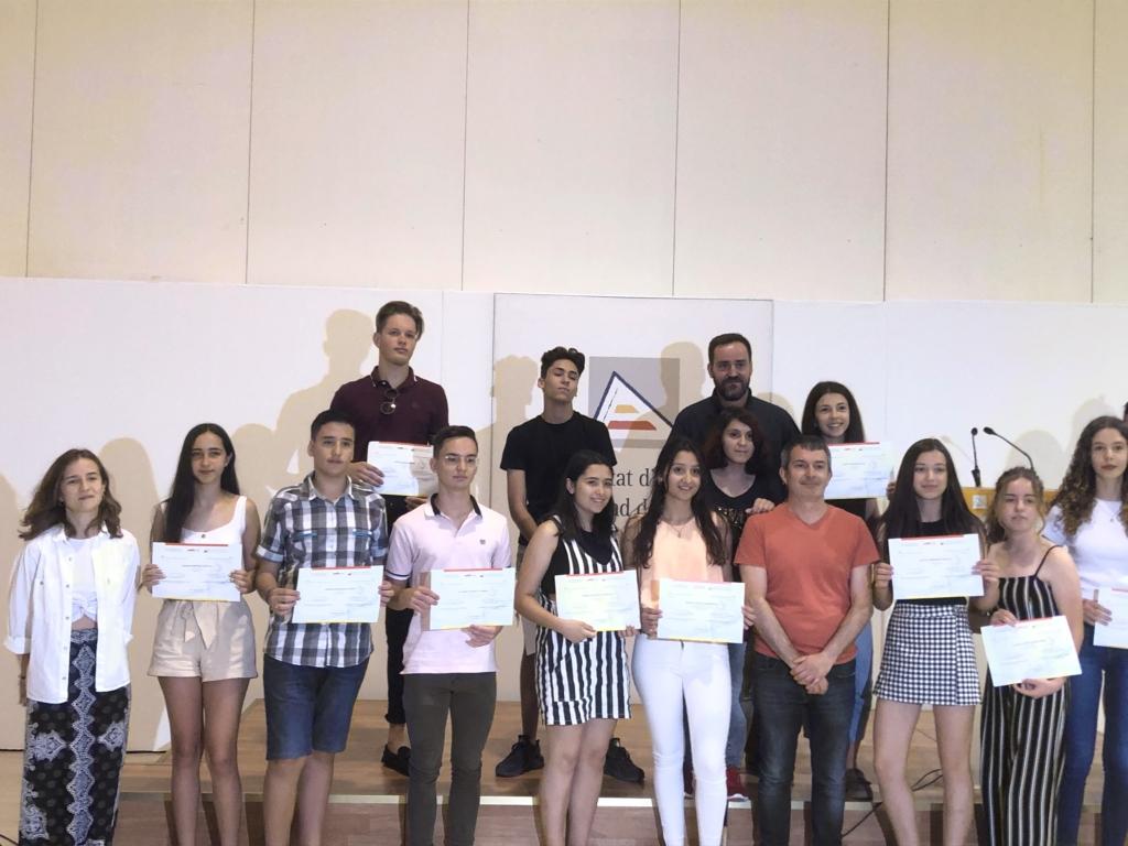 Alumno de Paidos, premiado por el Museo de la Universidad de Alicante