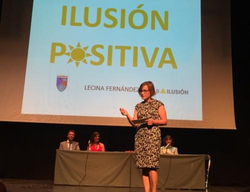 Lecina Fernández recomienda tener mucha ilusión positiva para hacer los sueños realidad en la charla organizada por Paidos