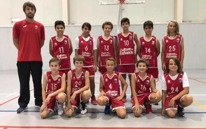 Basquet infantil CD Paidos Denia