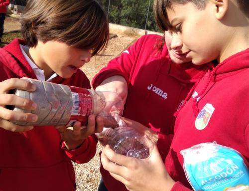 Los alumnos de primero de la ESO experimentan con el agua para conocer y entender sus propiedades