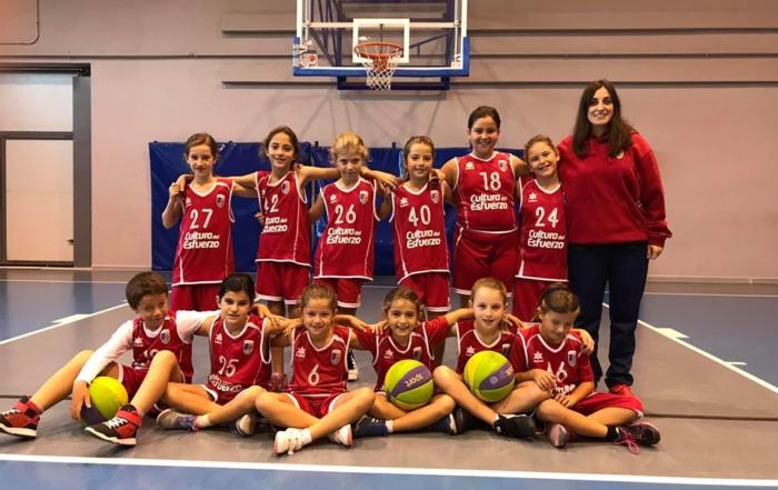 Paidos benjamín baloncesto en Denia