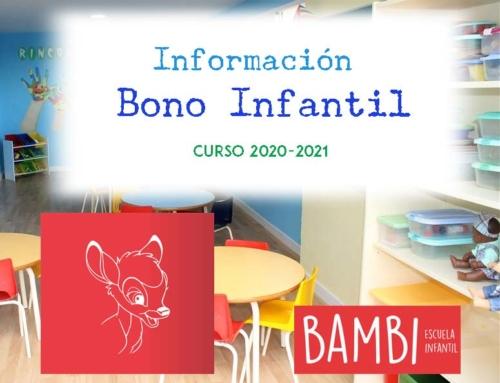 Solicitud Bono Infantil (nacidos 2018)