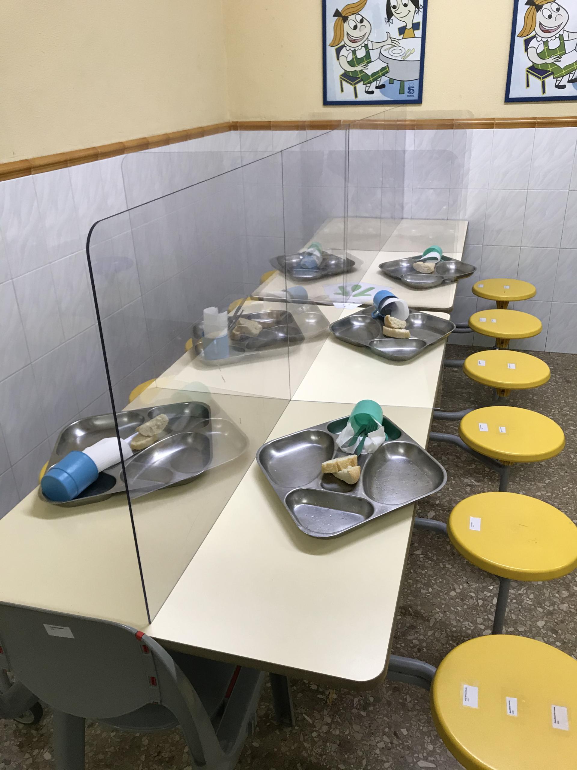 Nuevas medidas en el servicio de comedor de Paidos. ¡Seguimos trabajando por vuestra seguridad!