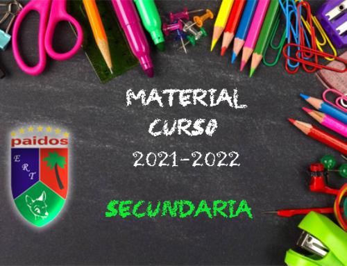 Material Paidos (Secundaria) Curso 2021-2022