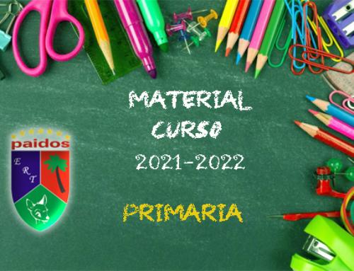 Material Primaria Curso 2021-2022